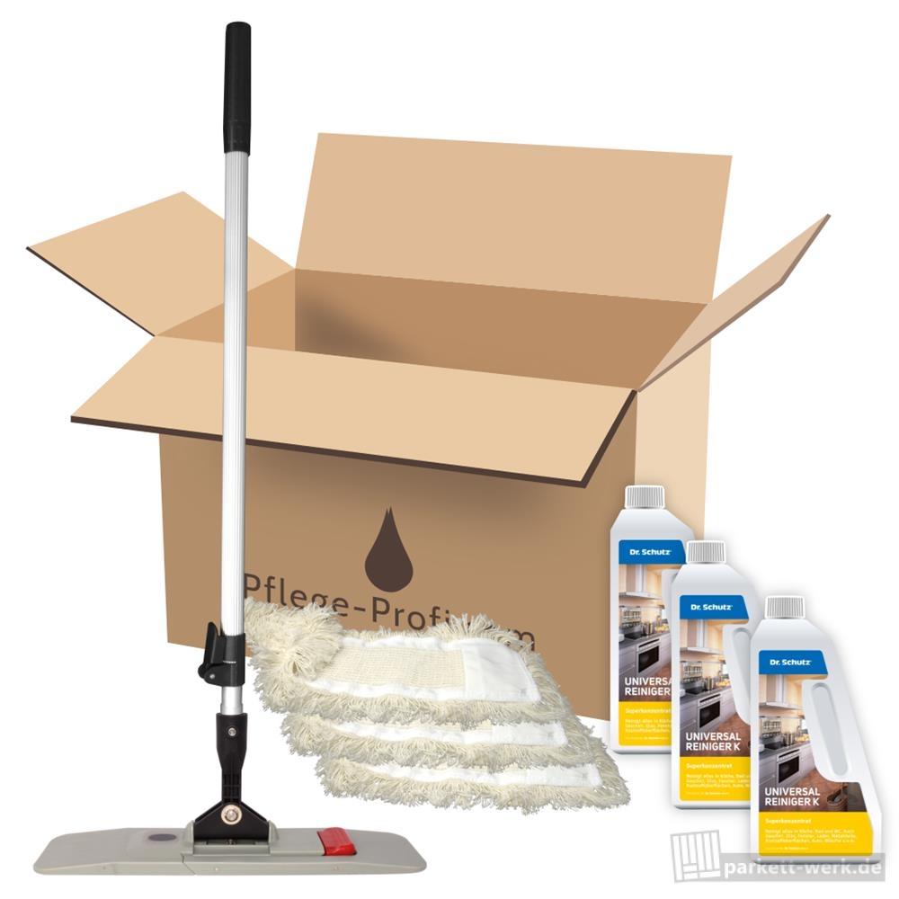 premium bodenpflege set magic click klapphalter teleskopstiel mop. Black Bedroom Furniture Sets. Home Design Ideas