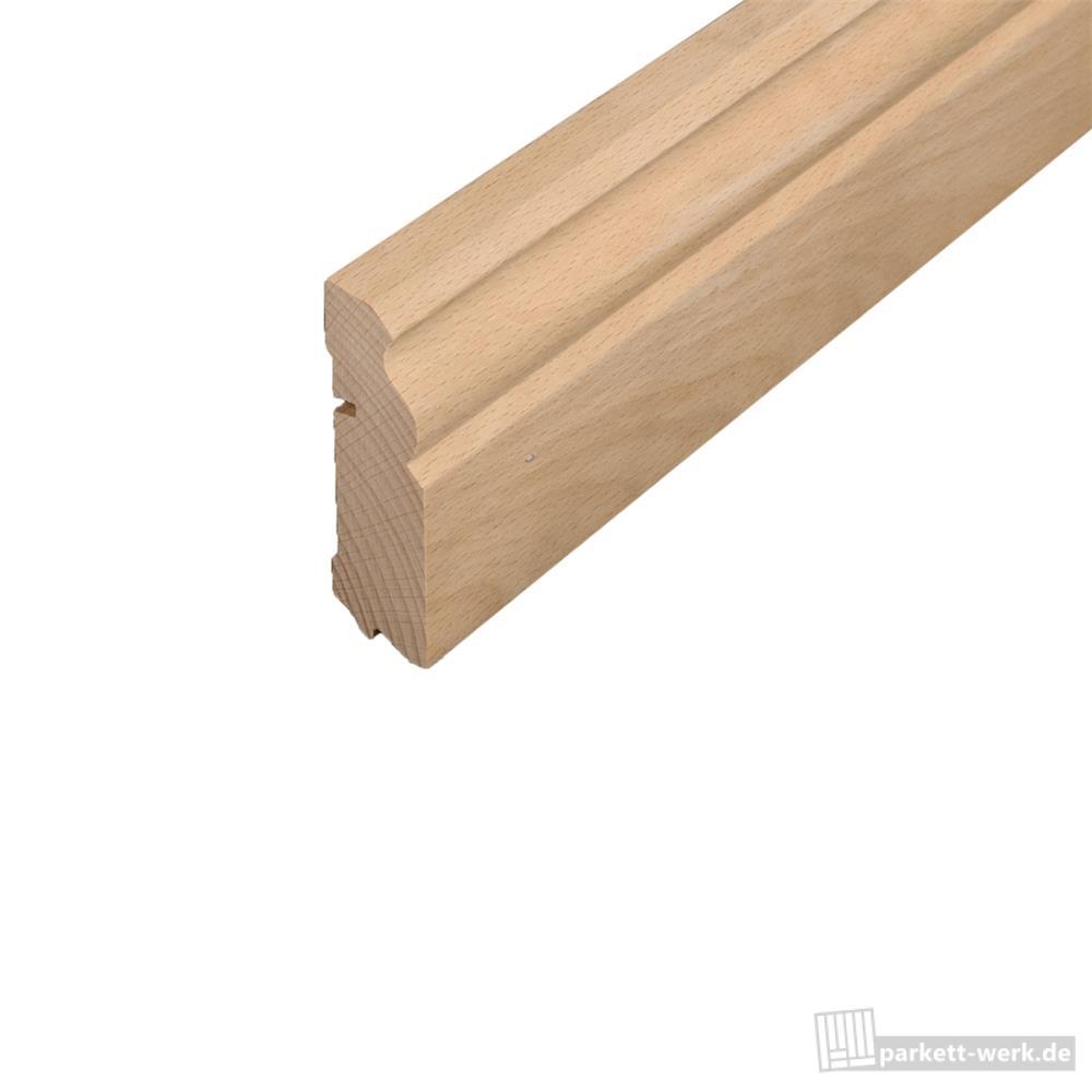 hoco sockelleiste 621 altberliner profil massiv 22 x 78 x 2500 mm buche ged mpft roh parkett. Black Bedroom Furniture Sets. Home Design Ideas