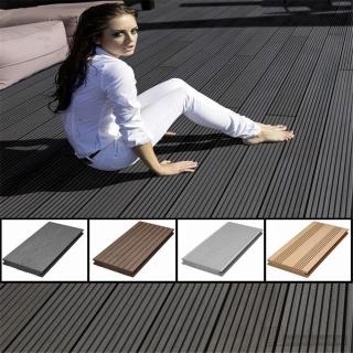 wpc terrassendielen massiv von futura floors parkett werk. Black Bedroom Furniture Sets. Home Design Ideas