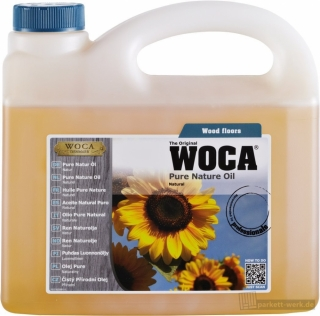 WOCA Pure Neutral Öl, natur (2,5 Liter)