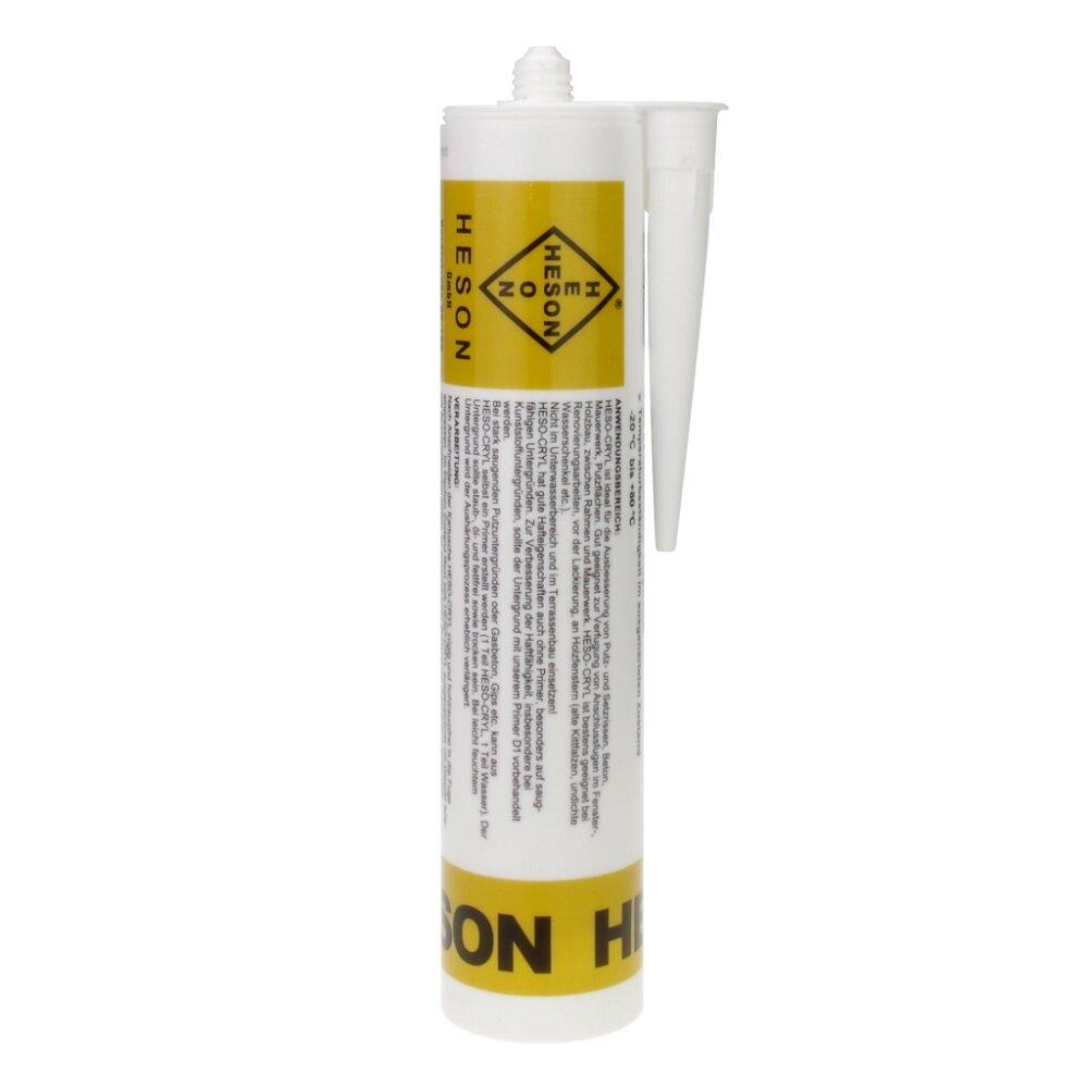 heson heso cryl acryl wei 310 ml stelzlager eimer kanister fussleisten. Black Bedroom Furniture Sets. Home Design Ideas