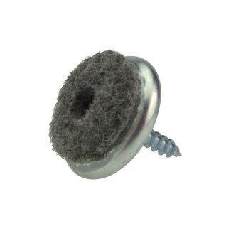 filzgleiter aus metall zum schrauben parkett parkett fussleisten pflegemittel beton. Black Bedroom Furniture Sets. Home Design Ideas